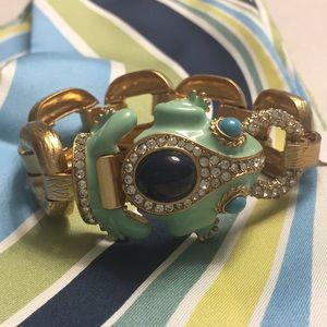 NWT J.Crew Fancy Frog Bracelet